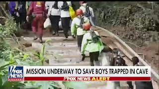 Rescue Mission Underway to Save Boys Trapped in Thai Cave
