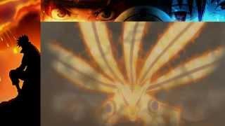 Naruto Bijuu Mode and Kurama vs the Tailed Beasts Jinchuriki