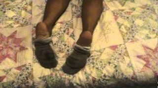 muddy ankle socks