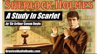 A STUDY IN SCARLET - FULL AudioBook - Sherlock Holmes | GreatestAudioBooks.com