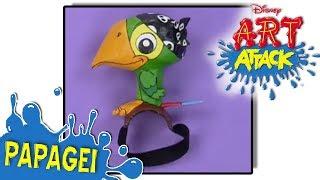 Disney Junior - Art Attack - Papagei | Disney Junior