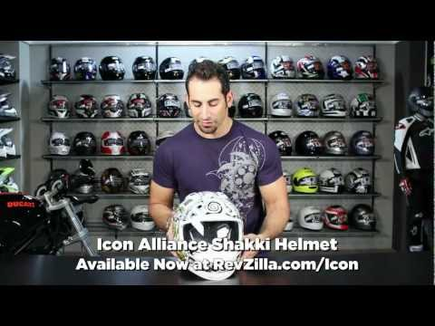 Icon Alliance Shakki Helmet Review at RevZilla.com