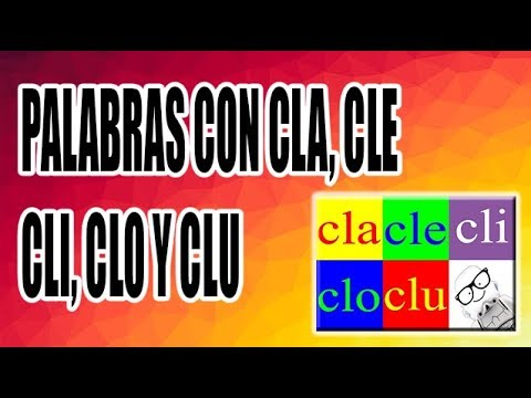 Xxx Mp4 PALABRAS CON CLA CLE CLI CLO Y CLU WILSON TE ENSEÑA 3gp Sex