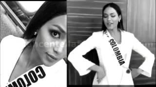 Miss Universe COLOMBIA  -Andrea Tovar - entrevista con el Jurado.