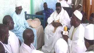Visite: khalif Omarienne Thierno BACHIR TALL à TOUBA