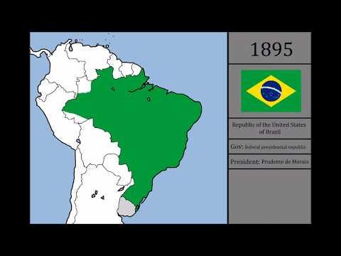 History of Brazil - the last