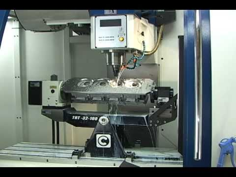 5 axis CNC Porting and CNC Engine Block Machining Center