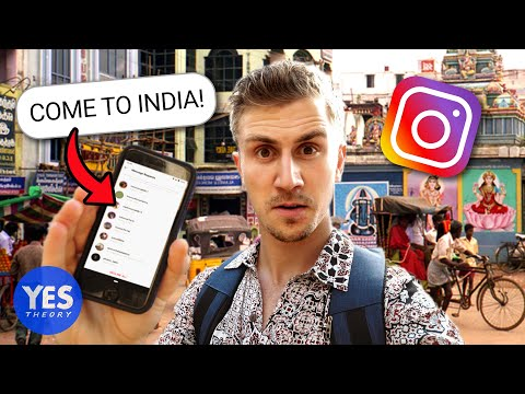 SAYING YES TO A CRAZY INSTAGRAM DM Flew to INDIA
