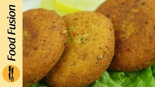 Chicken Shami Kabab Recipe By Food Fusion