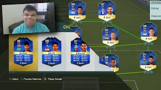 OMG FULL LIGA BBVA TOTS FUTDRAFT - FIFA 16 FUTDRAFT