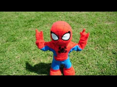 Spiderman en La araña pequeñita