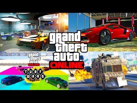 NEW GTA 5 IMPORT EXPORT 55 000 000 DLC SHOWCASE GTA 5 IMPORT & EXPORT BUYING EVERYTHING