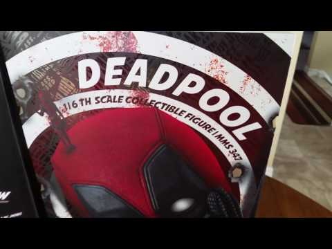 DEADPOOL 1/6 SCALE COLLECTION FIGURE MMS 347 FROM HOTTOYS