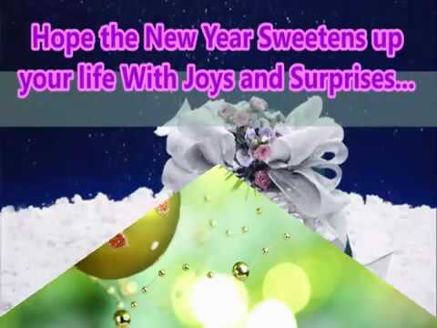 Happy New Year 2017   Beautiful Wishes New Year greetings Whatsapp Video E card Full HD Video360p