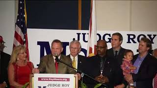 Watch U.S. Senate candidate Roy Moore