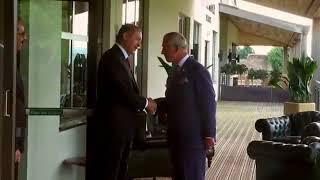 Recep Tayyip Erdoğan Galler Prensi Charles ile Görüştü