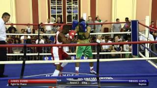 Haringey Box Cup QF - Daniel Evans v. Miguel Lopes