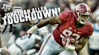 Watch Jonathan Allen's incredible fumble return against A&M