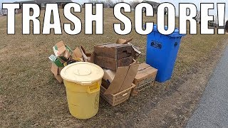 LOOK WHAT I Found In The TRASH For FREE! - Garbage Picking Ep. 111