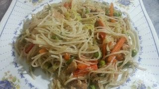 Chicken And Vegetable Spaghetti Recipe By Arshad
