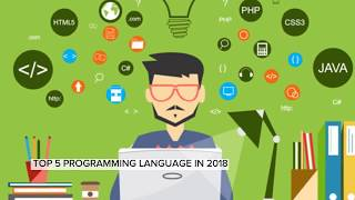 Top 5 Programming Languages to learn in 2018 by devloperadda