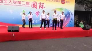 Andijon polkasi Xitoy Xi'an shahri ''Studentlar ijrosida''