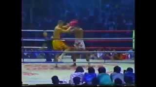 Rob Kaman vs Changpeuk III: Lumpinee Stadium 1990