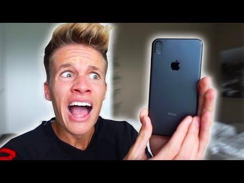Meine Reaktion auf das iPhone X 📱😱
