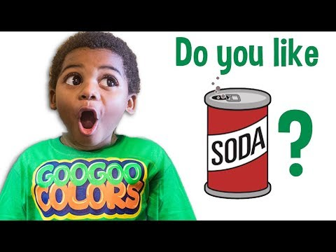 Xxx Mp4 DO YOU LIKE SODA Learn To Eat Healthy With Goo Goo Colors Song 3gp Sex