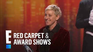Ellen Degeneres breaks the record for most People's Choice Awards!