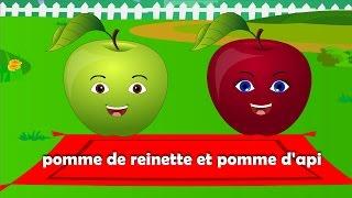 Pomme de reinette et pomme d'api + 25 min de comptines et chansons pour enfants