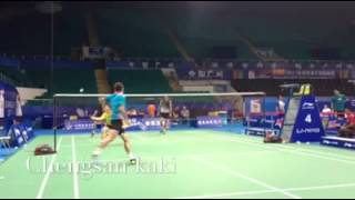 Lee Chong Wei training 1 vs 3