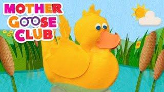 Six Little Ducks | Mother Goose Club Kids Karaoke