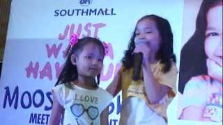 Moose Girls Just Wanna Have Fun - Xyriel - Call Me Maybe - SM Southmall, Nov 4