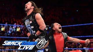 Did AJ Styles apologize to Shinsuke Nakamura?: SmackDown LIVE, May 1, 2018