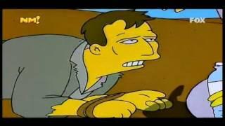 Los Simpsons - Burns Le Da De Beber Agua A Juda Ben Hur