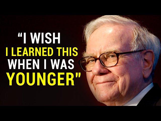 Warren Buffet's Life Advice Will Change Your Future (MUST WATCH)