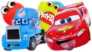 CARS FOR KIDS Magic Transformation Play Doh