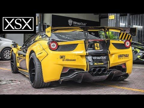 Xxx Mp4 LB WORKS Ferrari 458 Italia Lên Đời Xe Đua Đường Phố XSX 3gp Sex