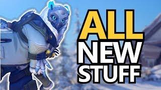 Winter Wonderland! New Skins and Yeti Hunt Game Mode! (Overwatch)
