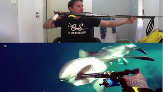Shark Attack Slow Motion and Interveiw