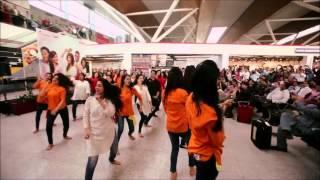 SpiceJet Holi Flashmob 2015 at Delhi Airport