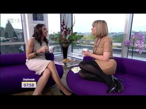 Kate Garraway Christine Bleakley Stunning Stocking Heels 28 Sep 10