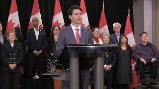 Trudeau asked about Trump's reported vulgar description of Haiti