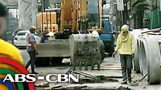 Bandila: Paghuhukay ng DPWH sa EDSA, nagdulot ng matinding trapik