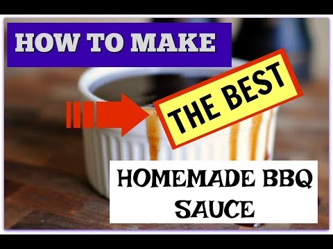 Xxx Mp4 THE BEST AND SUPER EASY HOMEMADE BBQ SAUCE RECIPE COOKING WITH LIAM 3gp Sex