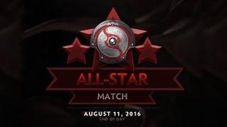 Ti6 All Star Match | The International 2016 All Star | Dota 2 All Star 2016 | Slacks vs Kaci