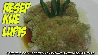 cara membuat kue lupis - resep jajanan pasar tradisional