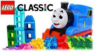 LEGO Classic 10703 Creative Builder Box, Build Multi-Storey House with Thomas the Train