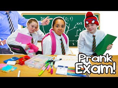 TIANA S FIRST DAY OF SCHOOL PRANK ON TEACHER